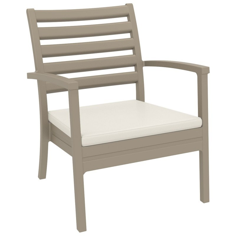 Artemis XL Outdoor Club Chair Dove Gray ISP004