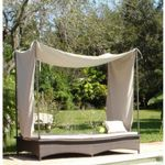 Jaavan Daybed with Posts and Tent