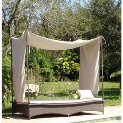 Jaavan Daybed With Posts And Tent Ja 121 Cozydays