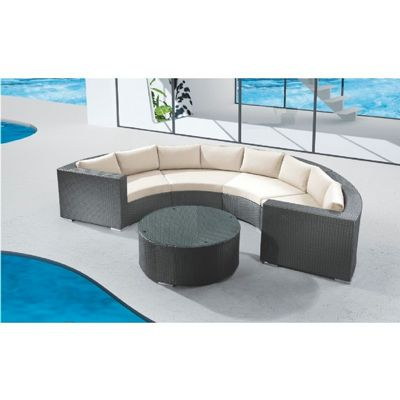 Jaavan Round Sectional JA-109SET