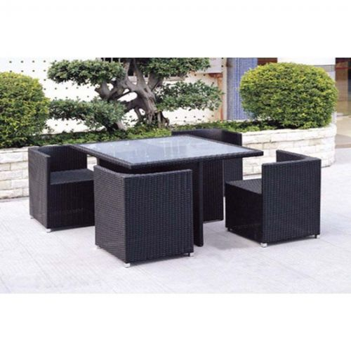 Jaavan Fusion Table And Chairs Set Ja