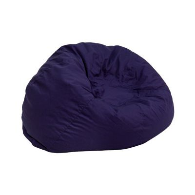 Small Kids Bean Bag Chair Navy Blue DG-BEAN-SMALL-SOLID-BL-GG