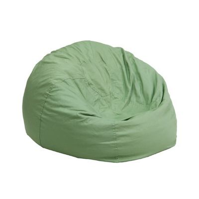 Small Kids Bean Bag Chair Solid Green DG-BEAN-SMALL-SOLID-GRN-GG