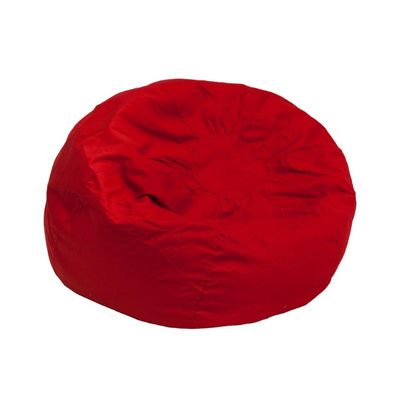 Small Kids Bean Bag Chair Solid Red DG-BEAN-SMALL-SOLID-RED-GG