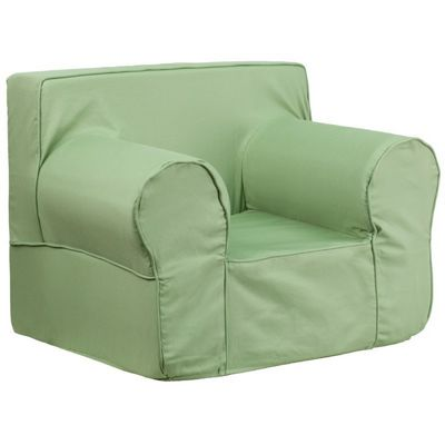 Solid Green Kids Chair DG-LGE-CH-KID-SOLID-BRN-GG