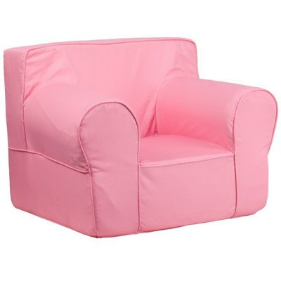 Solid Light Pink Kids Chair DG-LGE-CH-KID-SOLID-PK-GG