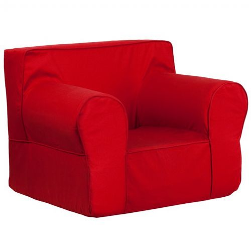 Solid Red Kids Chair DG LGE CH KID SOLID RED