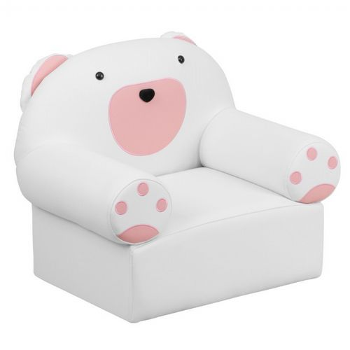 Miraculous White Kids Bear Chair Pabps2019 Chair Design Images Pabps2019Com