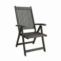 Renaissance Outdoor Patio 5-Position Reclining Chair - Hand-scraped Wood V1803