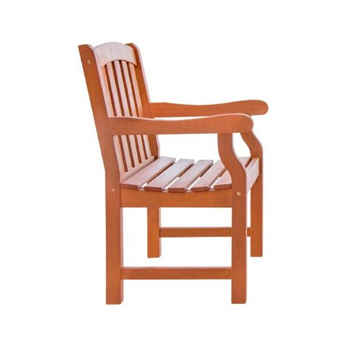 Malibu Classic Outdoor Garden Armchair - Wood V211
