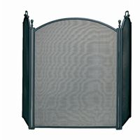 3 Fold Large Diameter Black Screen With Woven Mesh BR-S-3652