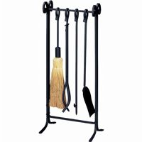 5 Piece Black Heavy Weight In Line Fireset BR-F-1111