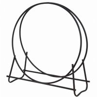 "Black 40"" Diameter Log Hoop BR-W-1881"