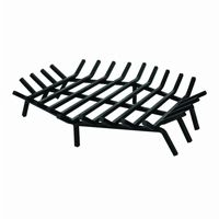 Wrought Iron 27 inch Bar Grate for Outdoor Fire Places BR-W-1546