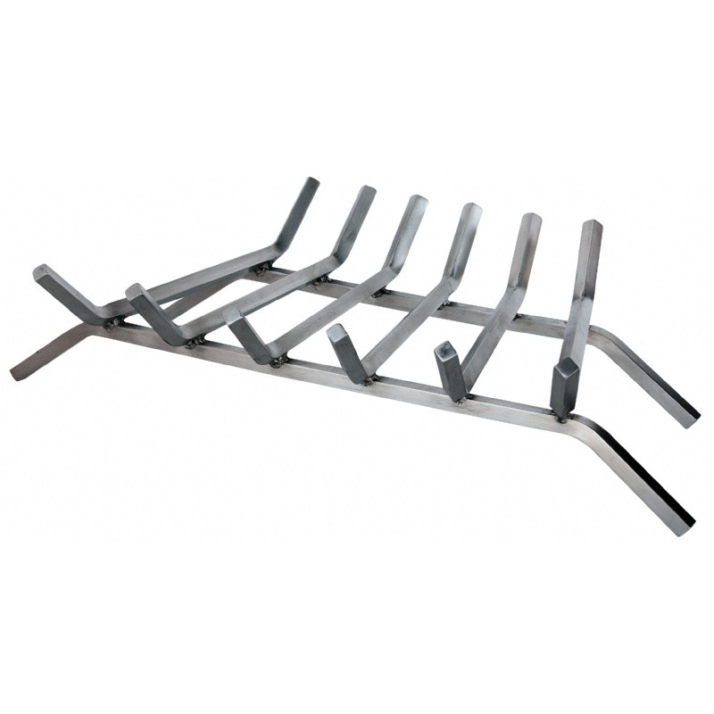 "27"" 6-Bar 304 Stainless Steel Bar Grate : Fire Pits & Fireplaces"