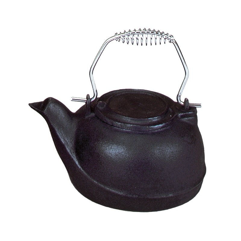 3 QT. Cast Iron Humidifier, Chrome Handle : Fire Pits & Fireplaces
