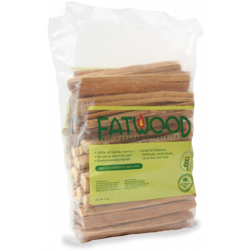 4 Pound Fatwood Bundle In Polybag