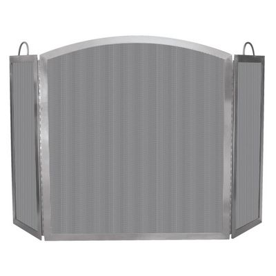 3 Fold Stainless Steel Screen - Indoor - Outdoor BR-S-7700