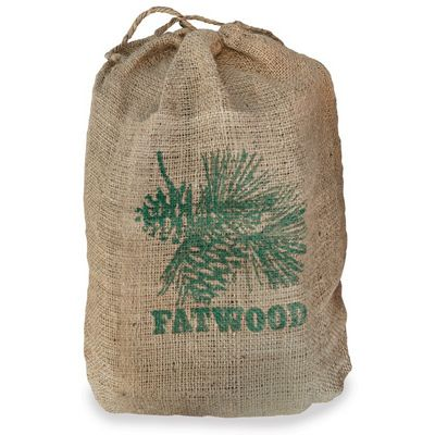 8 Pounds Fatwood Bundle In Burlap Sack BR-C-1751
