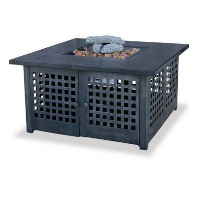 Gas Outdoor Fire Pit Heater with Tile Mantel BR-GAD920SP