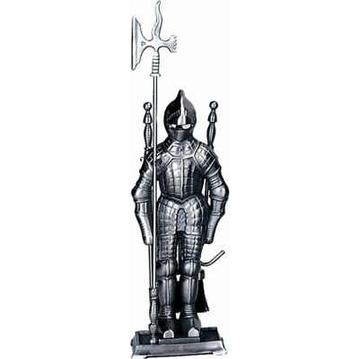 Mini Triple Plated Pewter Soldier Fireset 4 Pieces BR-F-7520