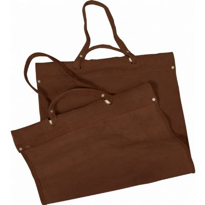 Replacement Brown Suede Leather Carrier BR-W-1880