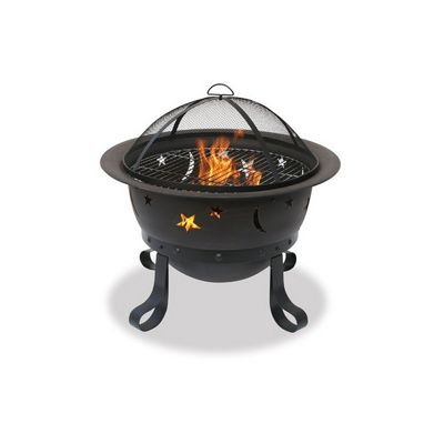 Starlight Bronze Outdoor Fire Pit 30 inch BRWAD1081SP