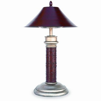 Table Lamp Electric Patio Heater Montage BR-EWTR850SP