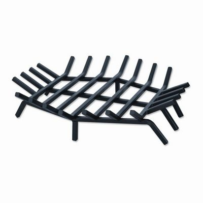 Wrought Iron 24 inch Bar Grate for Outdoor Fire Places BR-C1541