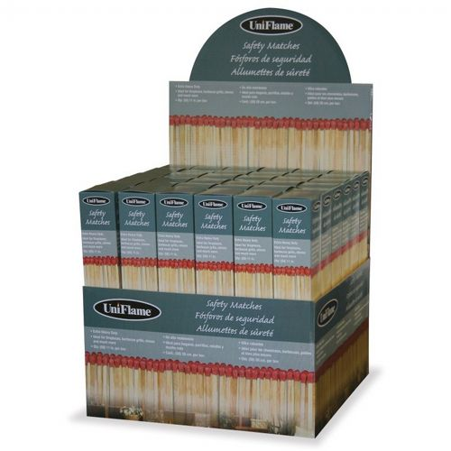 50 Count Premium Safety Matches (Order By 72's) BR-M-6150