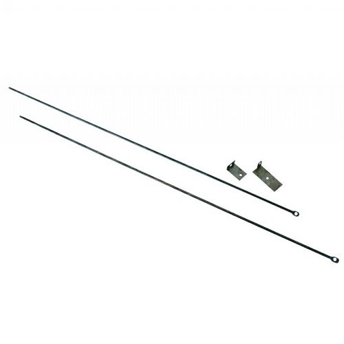 "Fireplace Curtain Rod Kit, 32"" TO 58"" Long BR-C-6800"
