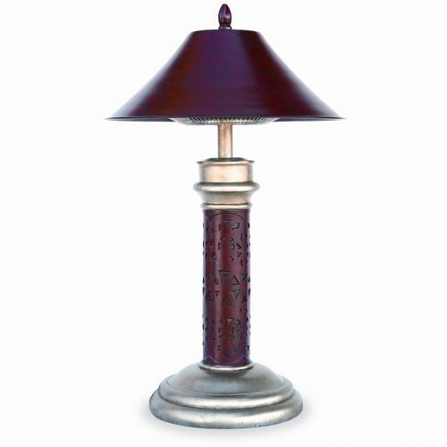 Table Lamp Electric Patio Heater Montage Br Ewtr850sp