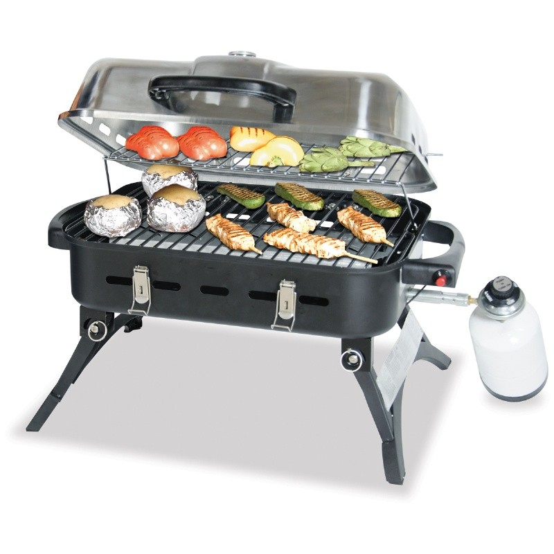 Blue Rhino Stainless Steel Portable LP Gas Grill