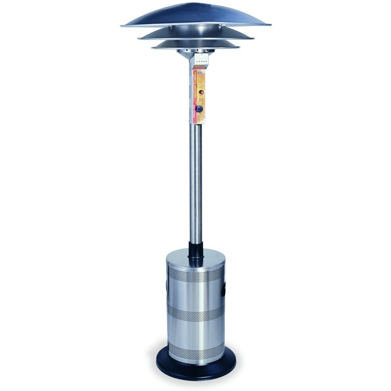 Uniflame Commercial LP Gas Outdoor Patio Heater Triple