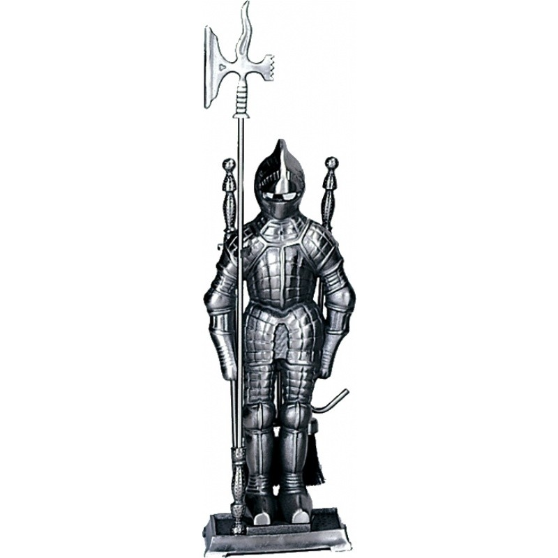 Mini Triple Plated Pewter Soldier Fireset 4 Pieces