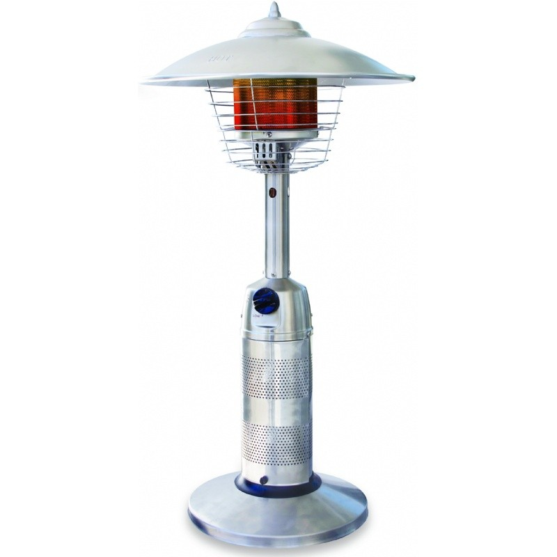 Propane Fire Pit: Tabletop Patio Heater Stainless Steel