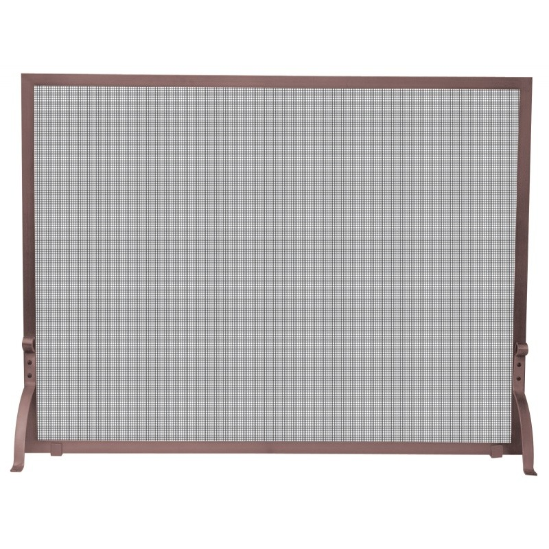 Single Panel Antique Copper Finish Screen