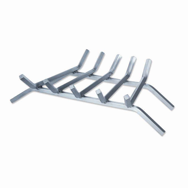 Accessories for Fire Pits, Fire Places, Torches: Stainless Steel Bar Grate for Outdoor Fire Pits 23 inch