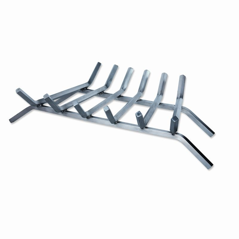 Accessories for Fire Pits, Fire Places, Torches: Stainless Steel Bar Grate for Outdoor Fire Pits 27 inch