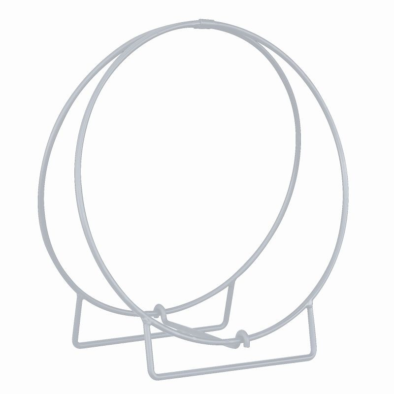 Stainless Steel Log Rack Hoop 36 inch