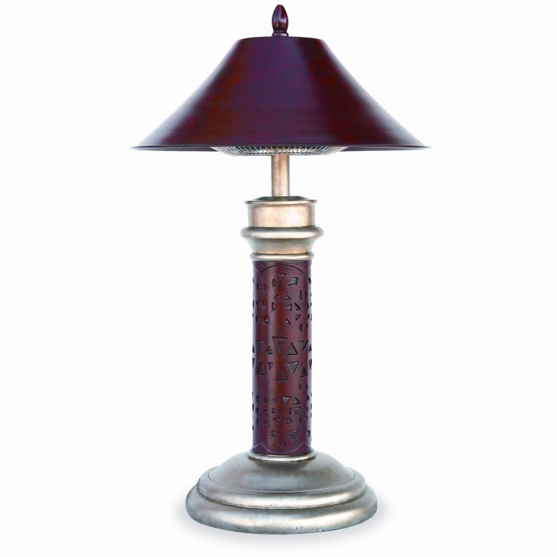Electric Table Lamp Patio Heater 1200 Montage