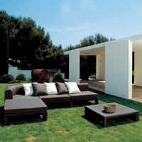 Xxl Sectional Outdoor Deep Seating Set 5-piece GK880S2