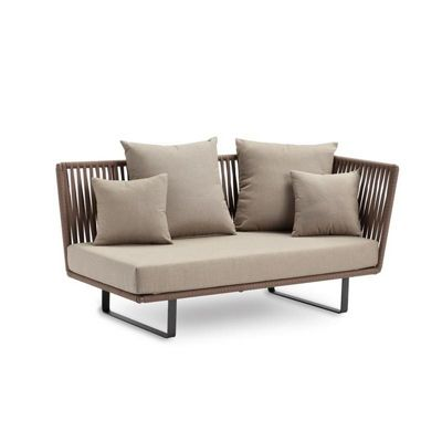 Bitta Braided Modern Outdoor Sectional Left Corner Module GK-70520-729