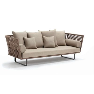 Bitta Braided Modern Outdoor Sofa GK-70500-729