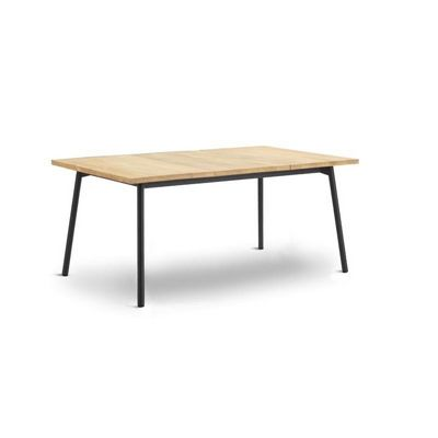 Bitta Rectangle Modern Outdoor Dining Table with Teak Top GK-70703-726