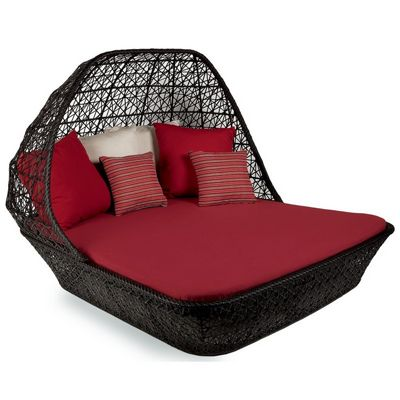 Maia Outdoor Double Chaise With Canopy 65630 Cozydays