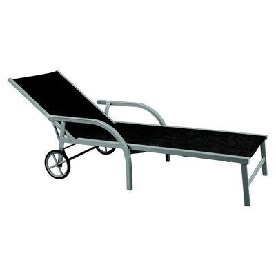 Singo aluminum chaise lounge deck chair 3160 cozydays - Chaise longue aluminium ...