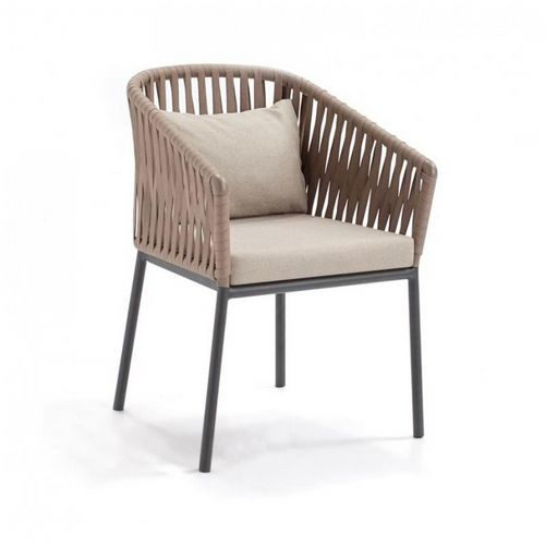 Bitta Braided Modern Outdoor Dining Chair Gk 70100 726 Cozydays