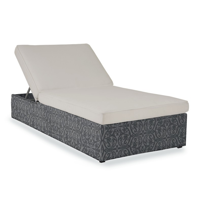 Outdoor Furniture: Kettal: Atmosphere Collection: Atmosphere Outdoor Chaise Lounge