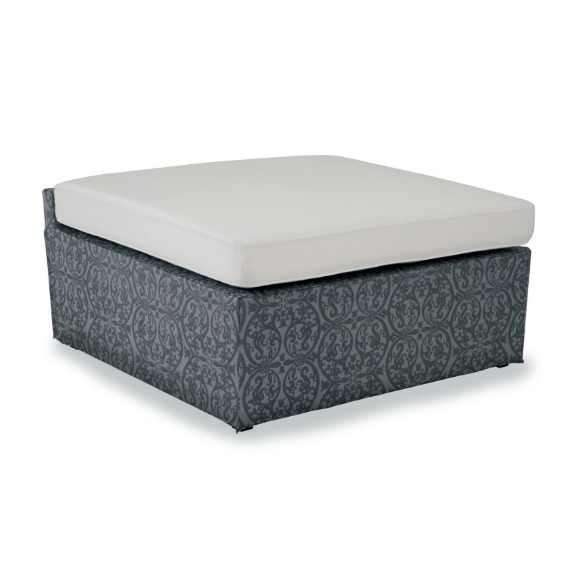 Outdoor Furniture: Kettal: Atmosphere Outdoor Ottoman